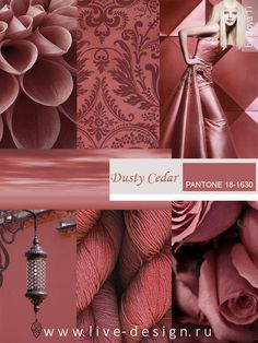 Dusty Cedar 2016- love the flowers and the patterned fabric
