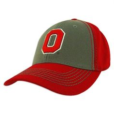 Ohio State Buckeyes Haymaker One Fit Hat Ohio State Gear, Ohio State University, Ohio State Buckeyes, Logo Outline, Top Of The World, Hats, Classic, Fitness, Sports