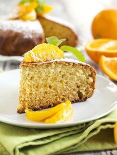 Gâteau au yaourt à l'orange - Recette de cuisine Marmiton : une recette