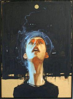 'Upinthesky' by Polish street artist Sainer (Przemek Blejzyk)