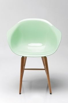 Židle s opěrkou Forum Wood Mint Eames Chairs, Lounge Chairs, Kare Design, Style Vintage, My Favorite Color, Decoration, Chair Design, Green Colors, Cube