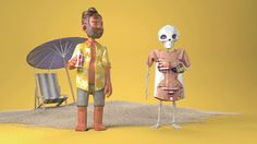'The Trials and Tribulations of Being a Skeleton', An Adorable Animated Short About Life as a Skeleton