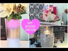 ▶ ♡ Adorable DIY Room Decor!! ♡ - YouTube