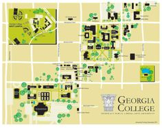 national star college campus map campus maps pinterest