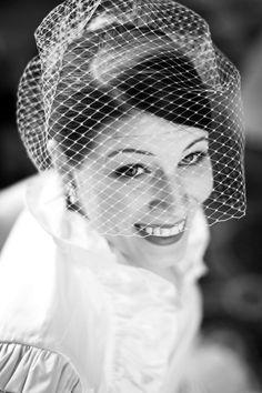 Birdcage Wedding Veil by FascinatingCreations