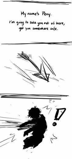 "Bury It Inside faiell: "" "" "" I drew a comic… about nico getting pierced by cupid's arrow : ( "" oh my god, this hurts a lot Rick Riordan Series, Rick Riordan Books, Percy Jackson Art, Percy Jackson Fandom, Solangelo, Percabeth, Percy And Nico, Sadie Kane, Leo Valdez"