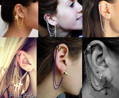 Fulaninha Entretenimentos: O que são brincos EAR CUFF