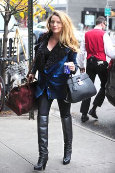 The most stylish knee-high boots ON THE PLANET.