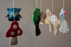 Handcrafted baby mobiles from The Bear & The Whale