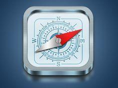 iOS style compass