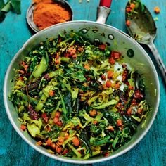 Rick Stein's Dry Curry of Cabbage, Carrot and Coconut - Woman And Home