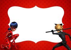 Convite 2 Miraculous Ladybug