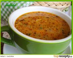 Kroupová polévka s hlívou Czech Recipes, Ethnic Recipes, Weight Loss Smoothies, Cheeseburger Chowder, Bon Appetit, I Foods, Soup Recipes, Baking, Soups