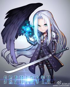 Sephiroth by ZhangDing on DeviantArt