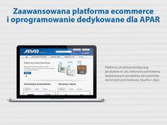 Zaawansowana platforma #ecommerce i oprogramowanie dedykowane dla APAR #migomedia