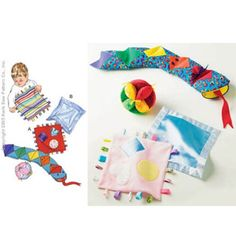 Learning Toy, Ball, Blanket Patterns by Kwik Sew     DIY