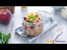 Ricetta Insalata di pasta con le pesche - La Ricetta di GialloZafferano