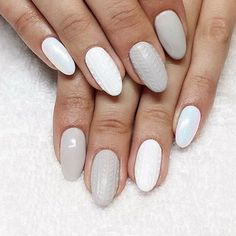 Want a superminimal, but cute mani design? Try out this hot sweater nail-art trend. Shop our nail colours here > https://www.priceline.com.au/cosmetics/nails/nail-polish