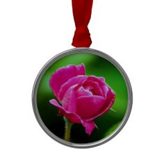 Rosy Pink Christmas Ornament