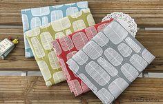 Scandinavian Fabric, Scandinavian Pattern, Vegetation Patterns, Modern Fabric, 4 Color - KoreaBacol