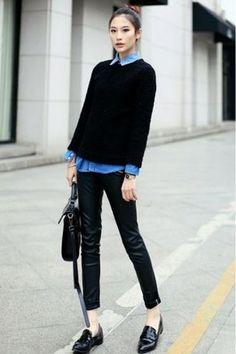 Denim su denim o con shorts? Ecco 5 suggerimenti su come abbinare la camicia di jeans!