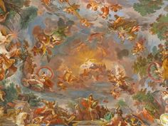 Rome, italy - march legend of furius camillus on ceiling of borghese gallery in rome Monet, Picasso, Van Gogh, Chateau Saint Ange, Place Saint Pierre, Ceiling Painting, Deck Party, Sabbats, Chef D Oeuvre