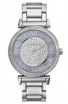 MICHAEL Michael Kors Michael Kors  Caitlin  Crystal Dial Bracelet Watch de072efccb