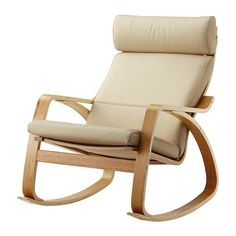 7fd64b37ad9 IKEA POÄNG rocking-chair The high back gives good support for your neck.  Madeira