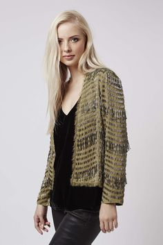 Need this embellished jacket to complete a glitzy look http://www.iamintothis.com