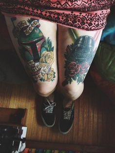 Star Wars Tattoo. Star Wars Girl #starwars #starwarsgirl