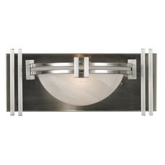 Art Deco Lumen Wall Sconce Kenroy Home 10370BS $108.00