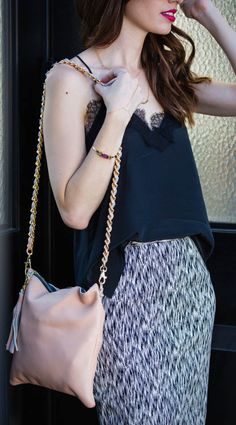 Love the versatility of this cami top - I can rock it day or night! #lovemycami