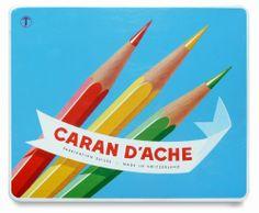 Caran d'Ache, mijn vader gebruikte deze, nu heb ik hem en gebruik hem nog steeds.