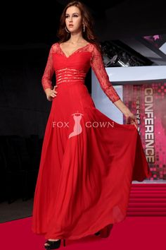 Impressive evening gowns with sleeves designs ideas for modern girl (5) Evening  Gowns With 6960f5104fd6