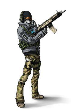 Ghost - Call of Duty - Kira-Mayer.deviantart.com
