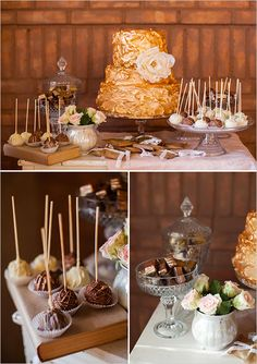lovely cake table ideas