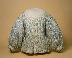 Isis' Wardrobe: Informal jackets and waistcoats of the early 17th century