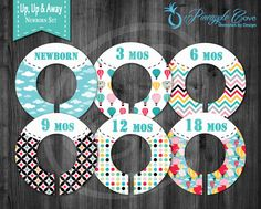 Baby Boy Closet Dividers to Organize Clothing for Baby Room   Up, Up & Away