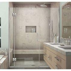 Best DreamLine Unidoor X x Pivot Hinged Shower Door Trim