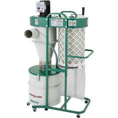 Grizzly HP 2 Stage Cyclone Dust Collector for sale online Essential Woodworking Tools, Antique Woodworking Tools, Fine Woodworking, Woodworking Projects, Woodworking Organization, Rockler Woodworking, Wood Projects, Shop Dust Collection, Diy Cutting Board