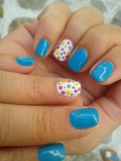 Shellac nails...