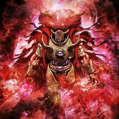 Magnus The Red. Primarch of the Thousand Sons.