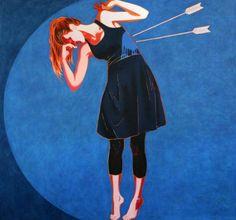 Iwona Zawadzka, Strzała II, 2012 #art #contemporary #artvee