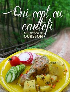 Reteta multicooker Oursson: pui copt cu cartofi si marar
