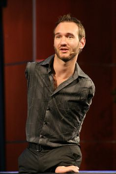 An increditable man with so much will, strength, courage and an inspirational heart and mind.  Nicholas James Vujicic is a preacher and motivational speaker born with Tetra-amelia syndrome (absence of all four limbs). As a child, he struggled mentally and emotionally, as well as physically, but eventually found Jesus and chose to live the best life he could possibly live. He decided to use his life as to provide inspiration to people all over the world. He started his own non-profit…