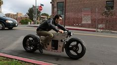 Electric Motorcycle 3