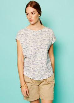 Stephanie Shorts in Beige Van People, V Neck, Beige, Shorts, Mens Tops, Fashion, Fashion Styles, Moda, Fashion Illustrations