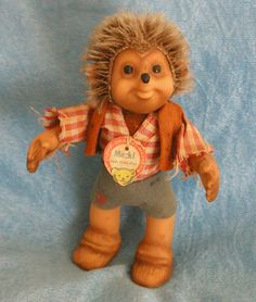 I had a few of these, loved them. | Google Image Result for http://www.southbaygifts.com/images/bears/mecki.jpg (Have this!)