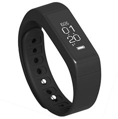 Semaco Fitness Tracker Bluetooth 40 Touch Screen Smart Bracelet Pedometer Activity Wristband with Calories Sleep Monitor -- Visit the image link more details.