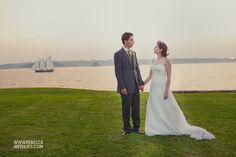 Fort Adams Newport Wedding Photographer : Azhar+Meredith | REBECCA ARTHURS
